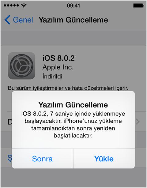 iPhone ve iPad Yazılım Güncellemesi Öncesi Yapılması Gerekenler